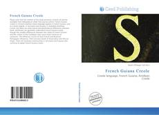 Bookcover of French Guiana Creole