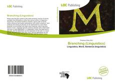 Bookcover of Branching (Linguistics)