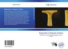 Bookcover of Esperanto in Popular Culture
