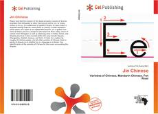 Bookcover of Jin Chinese