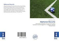 Bookcover of Alphonse Decorte