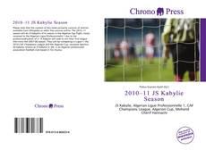 Portada del libro de 2010–11 JS Kabylie Season