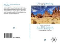 Bookcover of May 2010 Northern Sumatra Earthquake