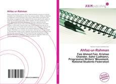 Bookcover of Ahfaz-ur-Rahman