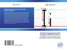 Bookcover of English-language Vowel Changes before Historic l