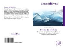 Capa do livro de Cosme de Médicis