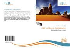 Buchcover von 526 Antioch Earthquake