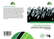 Bookcover of Asad Amanat Ali Khan