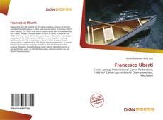 Capa do livro de Francesco Uberti