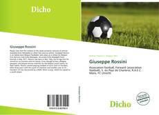Copertina di Giuseppe Rossini