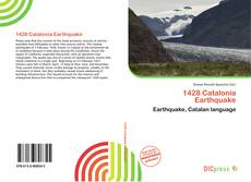 Buchcover von 1428 Catalonia Earthquake