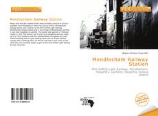 Bookcover of Mendlesham Railway Station