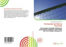 Capa do livro de Fernando de Abreu Ferreira