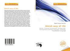 Copertina di Amish way of life