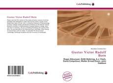 Portada del libro de Gustav Victor Rudolf Born