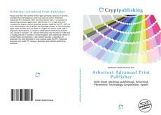 Buchcover von Arbortext Advanced Print Publisher