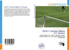Capa do livro de 2010–11 Burton Albion F.C. Season