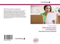 Buchcover von 2006 Kamchatka Earthquakes