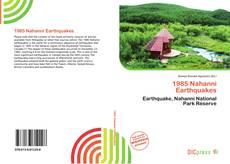 Buchcover von 1985 Nahanni Earthquakes