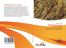 Bookcover of 1988 Saguenay Earthquake