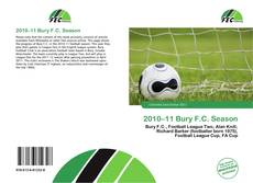 Portada del libro de 2010–11 Bury F.C. Season