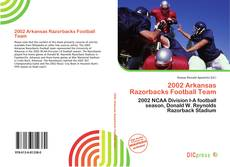 Capa do livro de 2002 Arkansas Razorbacks Football Team