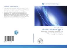 Bookcover of Glutaric aciduria type 1