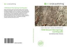 1948 Desert Hot Springs Earthquake kitap kapağı