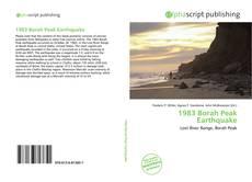 Bookcover of 1983 Borah Peak Earthquake