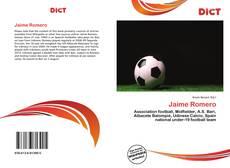 Buchcover von Jaime Romero