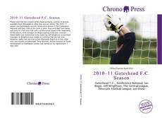 Portada del libro de 2010–11 Gateshead F.C. Season