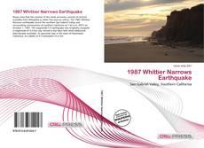 Capa do livro de 1987 Whittier Narrows Earthquake