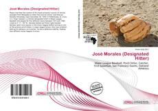 Capa do livro de José Morales (Designated Hitter)
