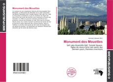 Bookcover of Monument des Mouettes
