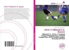 Buchcover von 2010–11 Millwall F.C. Season