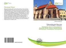 Christoph Sauer kitap kapağı