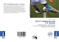 Buchcover von 2010–11 Middlesbrough F.C. Season