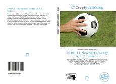 2010–11 Newport County A.F.C. Season的封面