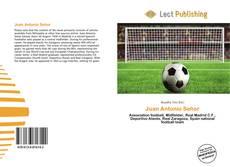 Buchcover von Juan Antonio Señor