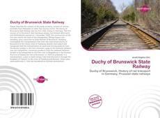Capa do livro de Duchy of Brunswick State Railway