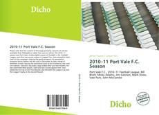 Обложка 2010–11 Port Vale F.C. Season