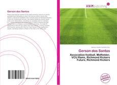 Capa do livro de Gerson dos Santos