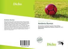 Capa do livro de Antônio Dumas