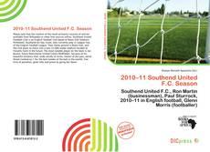Buchcover von 2010–11 Southend United F.C. Season