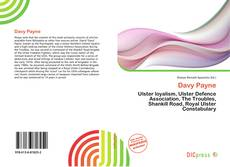 Davy Payne kitap kapağı