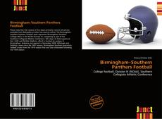 Bookcover of Birmingham–Southern Panthers Football