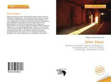 Bookcover of John Ewer