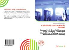 Bookcover of Alexandra Dock Railway Station