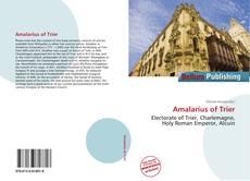 Обложка Amalarius of Trier