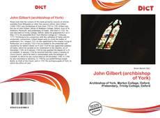 Borítókép a  John Gilbert (archbishop of York) - hoz